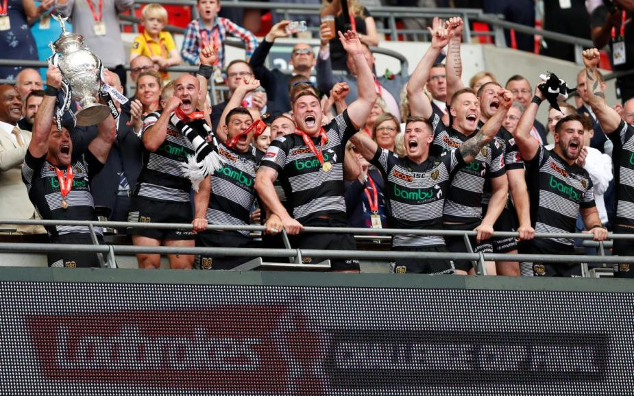 Challenge Cup Final - Hull FC vs Wigan Warriors